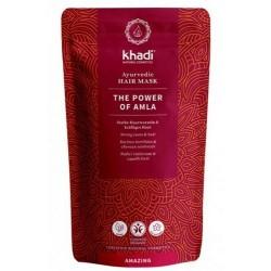 Mascarilla capilar el poder del Amla en polvo,  fórmula ayurveda fortalecedora para el cuidado natural de tu cabello.   Estim