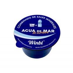 AGUA DE MAR al instante Cápsula 15g. Monodosis de 15 gramos.  Winbi agua de mar al instante está compuesto por sales mineral