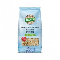 Copos de avena integral finos sin gluten. La avena es uno de los cereales más completos. Sabrosa, nutritiva y reparadora. Los c