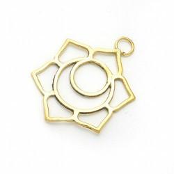 Colgante simbología de los chakras.  Material: Bisutería.  Medida: Ø 3 cm.