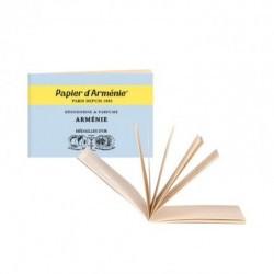 Una fragancia auténtica, un auténtico viaje olfativo. Mientras se consume, el papel desprende un delicado aroma a incienso, mi