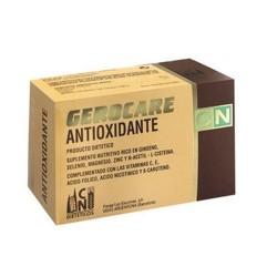 Gerocare posee la combinación óptima de nutrientes altamente antioxidantes para neutralizar el efecto negativo de los radicales
