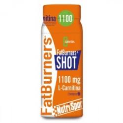 FatBurners®SHOT es un concentrado de L-Carnitina que, combinado con ejercicio aeróbico, estimula la reducción del tejido graso