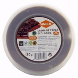 Azucar, aceite de oliva virgen extra, cacao en polvo semidesgrasado, manteca de cacao, y lecitina de soja.