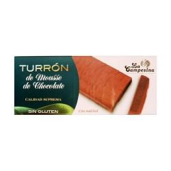 Cobertura de chocolate (50%), (maltitol* (43,5%), manteca de cacao, emulgente: lecitina de soja, aroma), grasa vegetal, jarabe