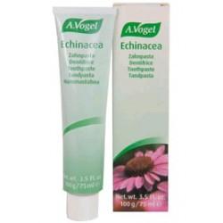 Dentífrico de Echinacea a base de extractos de plantas frescas y aceites esenciales. Limpia profundamente sin dañar el esmalt