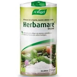 Herbamare® es una deliciosa mezcla de sal marina, hortalizas frescas, hierbas aromáticas y de alga marina kelp. Utilizada por m