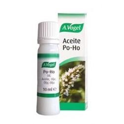 El Aceite Po-Ho es una combinación de aceites esenciales de menta, eucaliptus, enebro, alcaravea e hinojo. Se emplea para hace