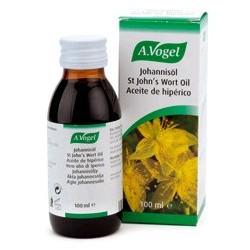Aceite preparado según la fórmula original del Dr. Alfred Vogel, a base de brotes y flores frescas de hipérico o hierba de San