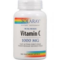 Vitamina C -1000 mg. - 100 tablites Acción Retardada  Descripción Tablite™ de acción retardada en dos etapas. El 50% del pro