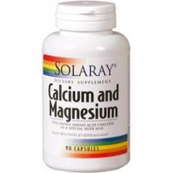 Calcium and Magnesium - 90 cápsulas  Descripción Complemento alimenticio a base de citrato de calcio, citrato de magnesio y