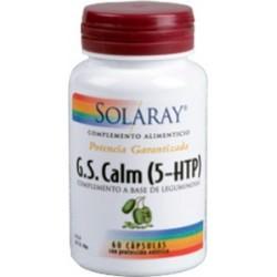 G.S. Calm (5-HTP) -  60 cápsulas vegetales  Descripción Complemento alimenticio a base de leguminosa Griffonia simplicifolia