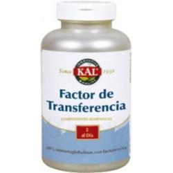 Factor de Transferencia - 60 cápsulas  Descripción 100% calostro de bovino y lactoferrina. El calostro proviene de bovino de