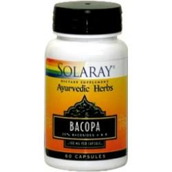 Bacopa 100 mg. - 60 cápsulas vegetales  Descripción Planta utilizada de forma tradicional como apoyo nutricional al sistema