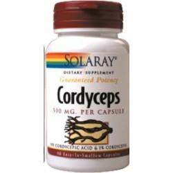 Cordyceps ext. 500 mg - 60 cápsulas  Descripción El Cordyceps es muy apreciado y ha sido utilizado en Medicina Tradicional C