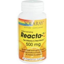 Reacta C - 500 mg. - 60 cápsulas  Descripción Reacta-C™ es una formulación altamente avanzada que proporciona ascorbato cálc