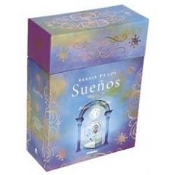 Esta caja contiene un libro que nos explica qué son los sueños y cómo recordarlos para que nos sean útiles a fin de conocernos