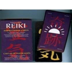 22 cartas divididas en 9 semillas y 13 transformaciones, inspiradas en los símbolos y principios del reiki, siguiendo la tradic