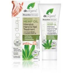 Hemp oil Intensive hand & nail treatment El aceite de cáñamo orgánico es rico en ácidos grasos esenciales y Omega 3, 6 y 9, e