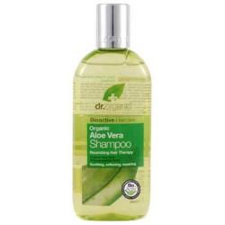 Aloe Vera Shampoo Un champú fortalecedor y protector formulado con Aloe Vera Orgánica. Este champú extremadamente suave se r