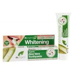 Aloe Vera Toothpaste Esta pasta de dientes de triple acción, está formulada con Aloe Vera orgánica, sílice, musgo islandés, c