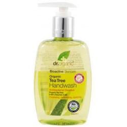 Tea Tree Handwash Esta formulación suave antiséptica y antibacteriana combina el aceite orgánico del árbol del té con el Aloe