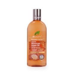 Moroccan Argán Oil Shampoo Champú restaurador e hidratante formulado con Aceite de Argán Virgen Orgánico Marroquí, fuente inc