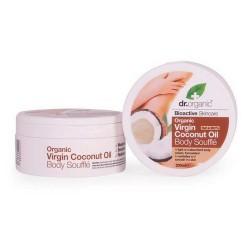 Virgin Coconut Oil Body Soufflé Una crema corporal ligera y absorbente, formulada para revitalizar y suavizar la piel. Instan