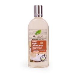 Virgin Coconut Oil Shampoo El champú de Aceite de Coco Virgen Orgánico protege y crea volumen en el cabello. El champú de Ace