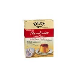 Delicioso flan de vainilla con fructosa para controlar el aporte de azúcar común en su dieta. ¿Por qué disfrutar del FLAN CON