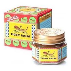CARACTERÍSTICAS: Tiger Balm es el autentico ungüento oríginal de uso externo para el alivio de los dolores. PRESENTACIÓN: Ta