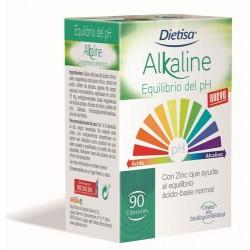 CARACTERÍSTICAS  Dietisa® Alkaline Equilibrio del pH, está formulado a base de minerales alcalinos como el Zinc, que ayuda al