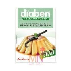 El flan Diaben es adecuado en aquellas dietas en las que se quiere suprimir el consumo de azúcar común (sacarosa). El consumo