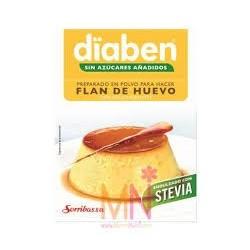 El flan dïaben es adecuado en aquellas dietas en las que se quiere suprimir el consumo de azúcar común (sacarosa). El consumo