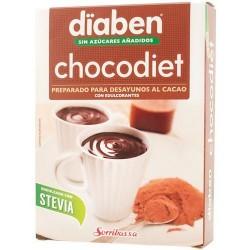 Chocodiet es un  preparado alimenticio al cacao para desayunos y meriendas que ha sido endulzado con el edulcorantes de origen