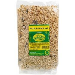 Musli Familiar Sello Verde  El muesli es un alimento del grupo de los cereales, típicamente de desayuno, aunque también se co