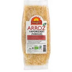 Arroz Parboiled (Vaporizado) 500g  El Arroz Vaporizado (Parboiled) de Biográ está parcialmente cocido con vapor de agua y pos