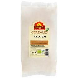 Gluten en polvo  Gluten en polvo de trigo para seitán o pan. En el horneado, el gluten es el responsable de que los gases de