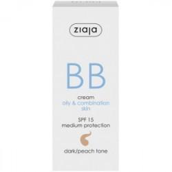 BB cream pieles grasas y mixtas SPF15 Tono Oscuro La línea de pieles mixtas a grasas, hidrata, regenera, deja la piel uniforme