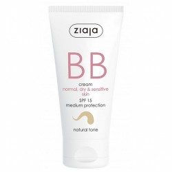 BB cream pieles normales, secas y sensibles SPF15 Tono Natural La línea para piel normal, seca y sensible, que hidrata, regene