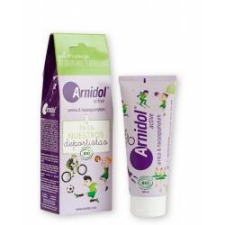 Arnidol® Active Gel masaje con ingredientes de origen natural y ecológico, es una solución ideal para niños mayores de 3 años q