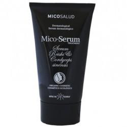 Sérum ecológico reparador de uso corporal, especialmente formulado para el tratamiento de pieles sensibles y/o hipersensibles.