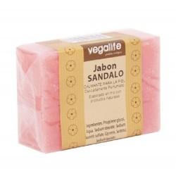 JABON DE SANDALO NATURAL 100GR VEGALIFE  DESCRIPCIÓN DEL PRODUCTO Ingredientes: Pastilla de Jabo´n de 100Gr. en Forma Rectan