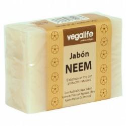 JABON DE NEEM 100GR VEGALIFE  DESCRIPCIÓN DEL PRODUCTO Ingredientes: Cocos Nucifera Oil, Aqua, Sodium Hydroxide , Potassium