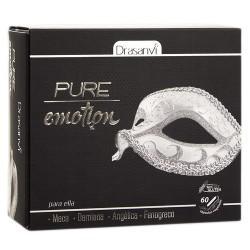 DESCRIPCIÓN DEL PRODUCTO Pure emotion para ella Nuestro complemento está formado con una serie de extractos vegetales: Fenogre
