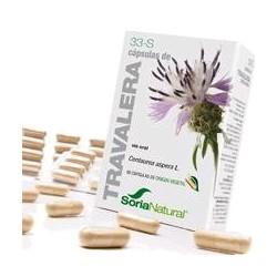 * Centaurea aspera L. (planta florida).  Flavonoides (ácido clorogénico, ácido caféico, vitexina, luteolina etc).........24 m