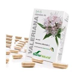 Valeriana officinalis L. ( raíz).  Aceite esencial...............4,2 mg; ( 0,7 mg / cápsula).  Ácido valerénico............