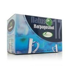 *Harpagofito (Harpagophytum procumbens Dec.), raíz...... 40,5 %  *Sauce (Salix alba L.), corteza.............. 28 %  Cola d