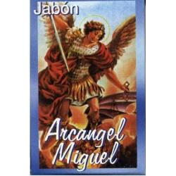 JABÓN DEL ARCÁNGEL MIGUEL    PROPIEDADES FÍSICAS: SUAVIZA Y PROTEGE LA PIEL YA QUE EL ACEITE DE LAVANDA ACTÚA COMO CICATRIZ