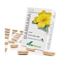 *Turnera difusa Willd (hojas). Saponinas.................36 mg; (6 mg / cápsula).